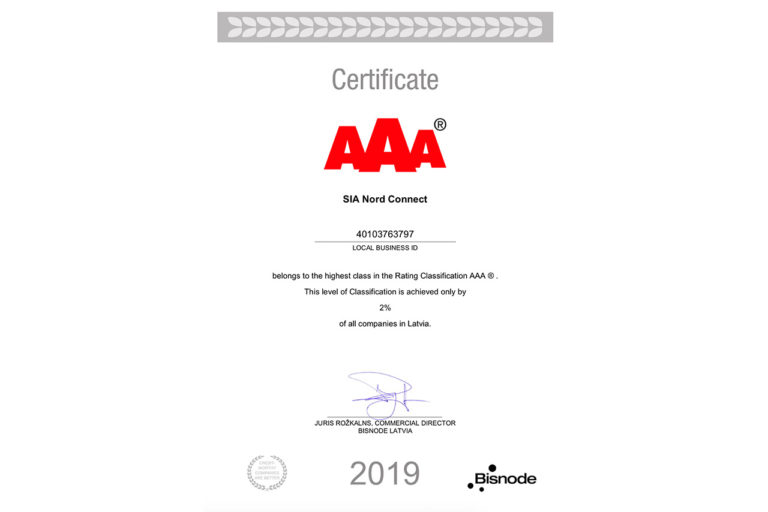 aaa-nordconnect-certificate-2019