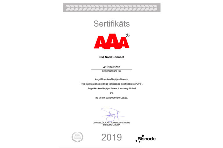aaa-nordconnect-certificate-2019-lv
